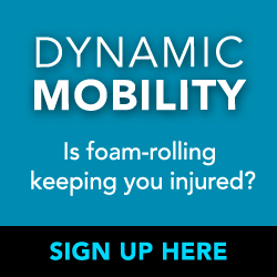 Dynamic Mobility Seminar with Dr. Ross - sign up!