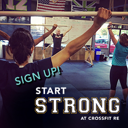 Start Strong at CrossFit RE Intro Program. Sign up!