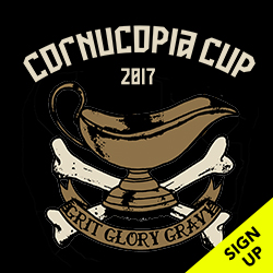 Cornucopia Cup. Annual Thanksgiving competition. Sign up!